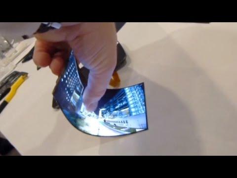 Самый тонкий гибкий экран в мире от LG