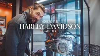 Download I visited the Harley-Davidson factory last week! Mp3 and Videos