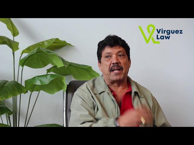 El Señor Maldonado relata sobre su accidente de auto y su experiencia con Virguez Law
