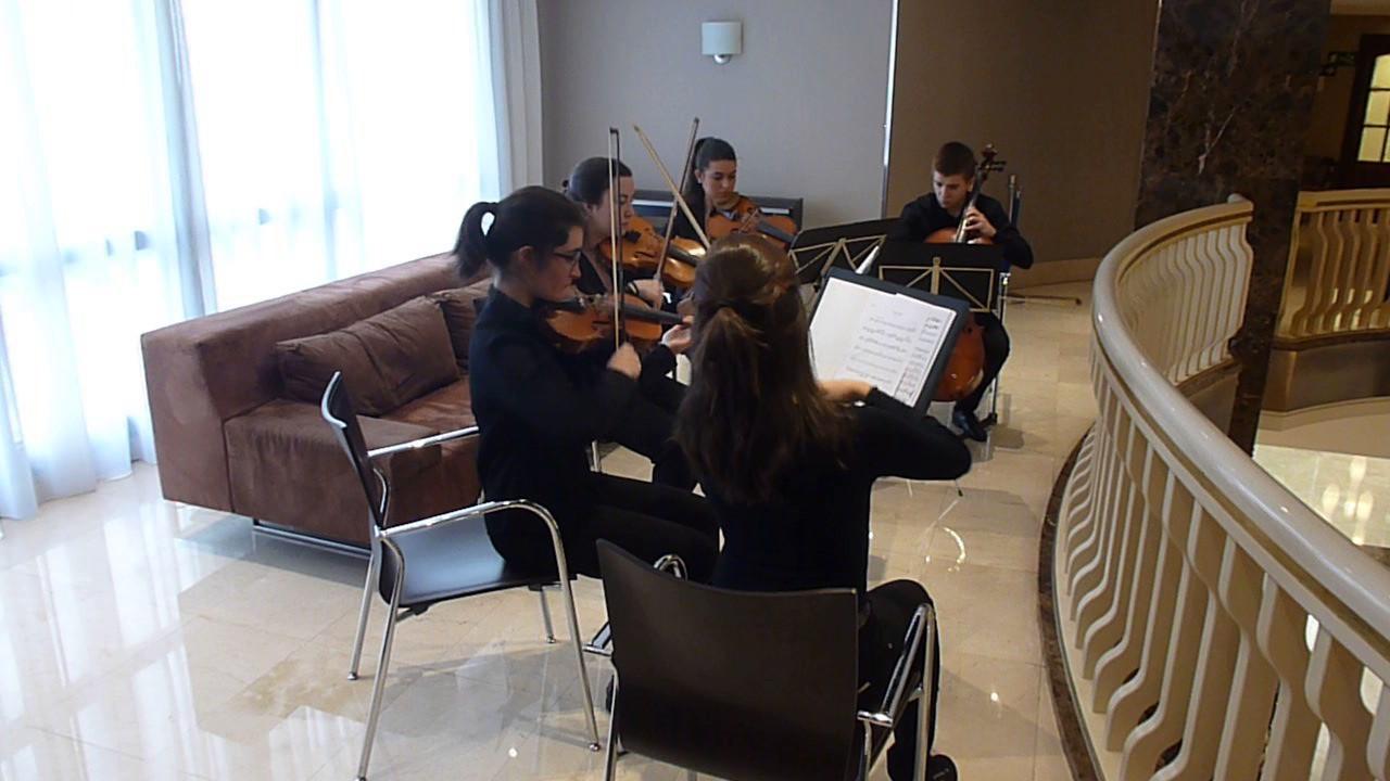 2017 Abril 29 Fundación Talento Bilbao DIVISI en el Hotel Abando ...