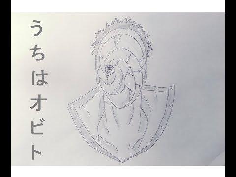 Drawing Obito Uchiha (Tobi) | NARUTO | Speed Drawing [HD]