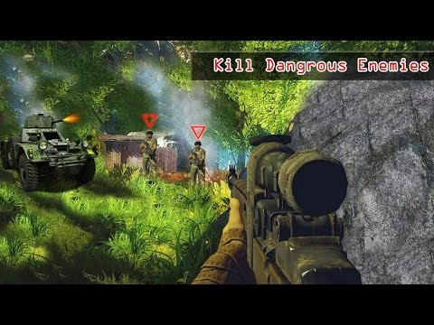 Frontline Mountain Sniper Fury Android Gameplay - 동영상