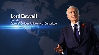 Lord Eatwell | Speaking at Globalization of Higher Education Conference