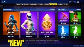 NEW Item Shop November 6th! Bullseye Skin AVAILABLE! Valkyrie Skin & Whiteout Are Back! Fortnite