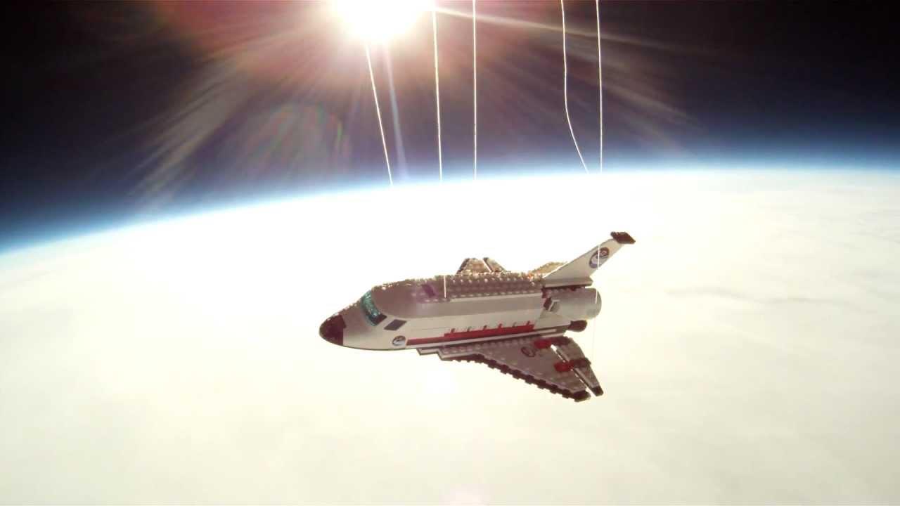 Lego Space Shuttle by Steve Sammartino and Raul Oaida