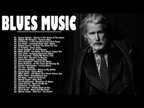 Blues Music | Greatest Blues Rock Songs Of All Time | Slow Blues & Blues Rock Ballads