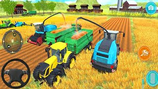 Real Tractor Farming Simulator 2018 - Farm Tractor Plowing & Sowing Fun Play - ios/Android Gameplay
