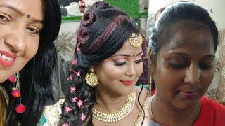 Dusky   Dark skin one brand makeup tutorial step by step in hindi