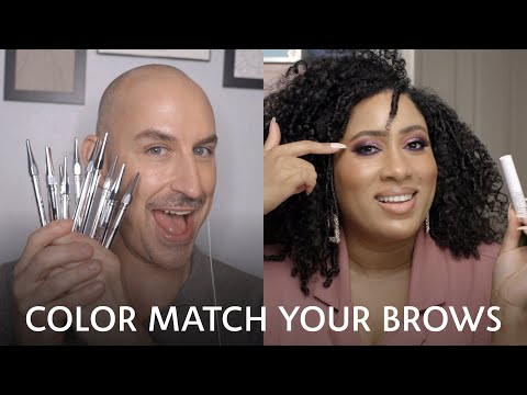 How to: Color-Match for Brows | Sephora