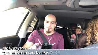 """Drummers in cars be like... """"Love Someone"""" by Lukas Graham drum cover Video"""