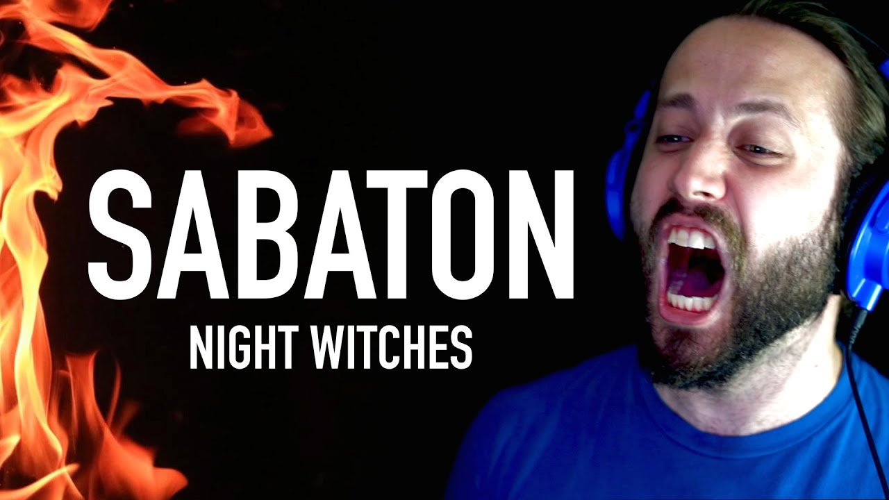 SABATON - Night Witches (Cover by Jonathan Young)