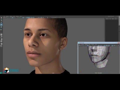 EISKO  - 3D Facial Animation Rig