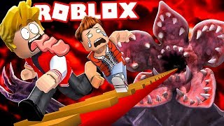 WE ENTER INTO THE SERIES STRANGER THINGS IN ROBLOX!
