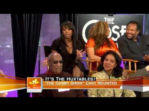 Today  Cosby cast reunites 25 years later 05192009 Part 3