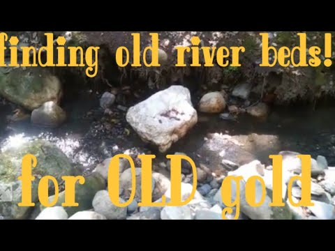 How to find ancient stream beds gold prospecting
