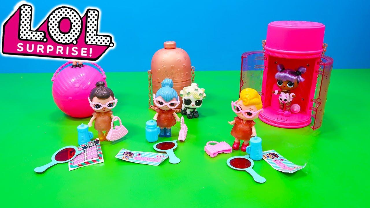 L.O.L. Surprise Puppen unboxing sammeln spielen   Kinder Spielzeug