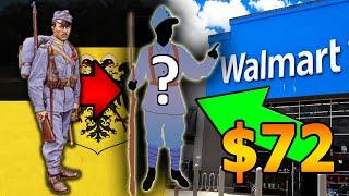 "D.I.Y WW1 ""Austria-Hungary Uniform"" from Walmart for Halloween!"
