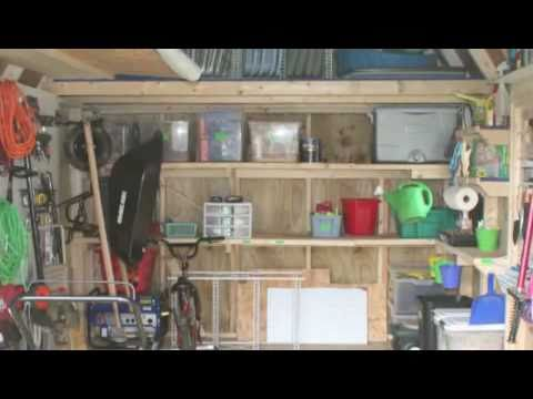 Organizing Your Shed Video Youtube