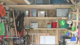 Organizing Your Shed Video