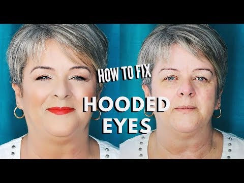 How to do Makeup for Hooded Eyes on Mature Women over 50