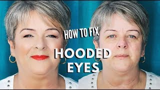 How to do Makeup for Hooded Eyes on Mature Women over 50 Step by Step | mathias4makeup