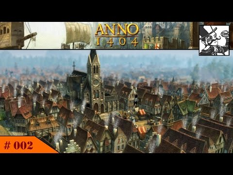 Anno 1404 - Venice: #002 Multiplayer, laying the foundation of the metropolis!