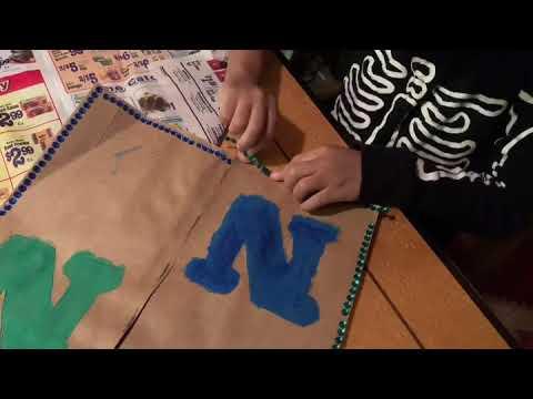 Paper Bag Vest for Bootcamp Sept 2019 K - 5 years old