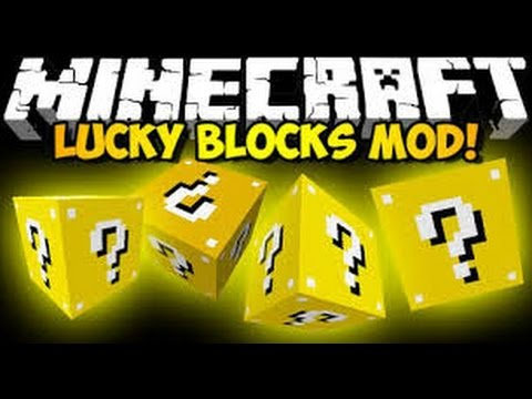 minecraft-mod nasıl kurulur (lucky block modu)