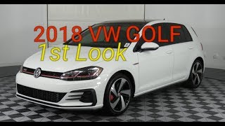 2018 Volkswagen Golf GTI TSI 1st Look and Exterior Review