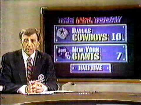 Cowboys vs. Giants Sep. 20 , 1987 part 8 Halftime Show