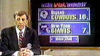 Cowboys vs. Giants Sep. 20 , 1987 part 8 Halftime Show