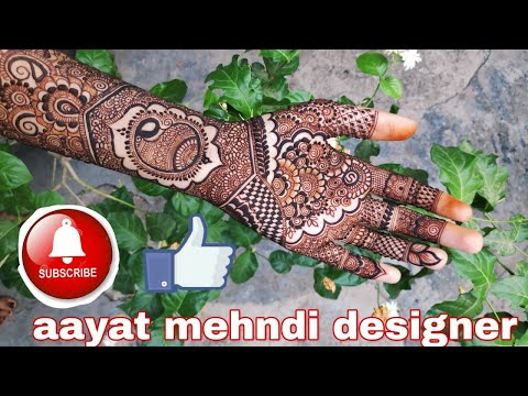 Beautiful mehndi design step-by-step photography tutorial thumbnail
