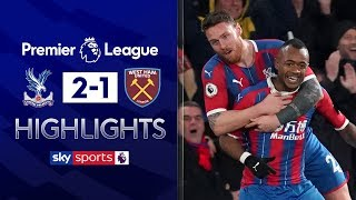 Ayew scores sublime skilful solo goal | Crystal Palace 2-1 West Ham | Premier League Highlights