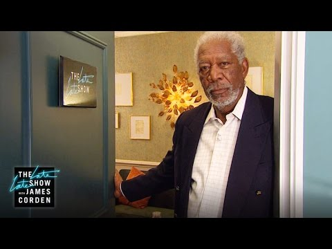 Morgan Freeman Checks In with a Voice Over