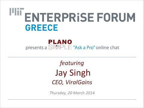 2013-0320: Ask a Pro featuring Jay Singh, CEO, ViralGains