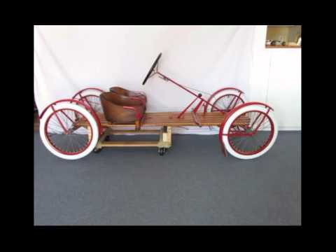 Briggs Stratton Com >> 1918 A. O. Smith Flyer With 1922 Briggs & Stratton Motor Wheel - YouTube