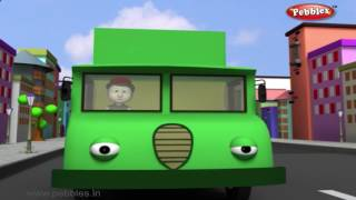 Vans Vans Vans | Nursery Rhymes With Lyrics | Nursery Poems | 3D Nursery Rhymes For Children