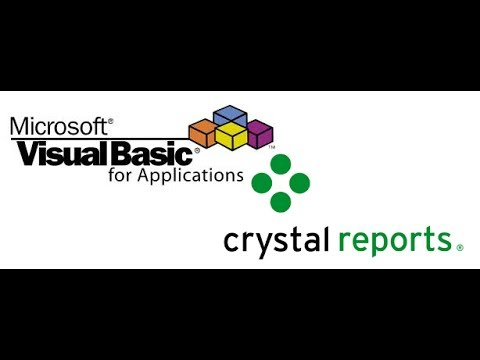 How to Call Crystal Report from Visual Basic 6.0.