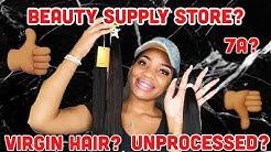 BADDIE ON A BUDGET   $23 Beauty supply store virgin hair   Lauryn J