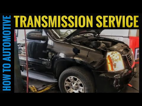 How to Change the Transmission Fluid and Filter on a 2007-2014 Chevy Tahoe/ GMC Yukon