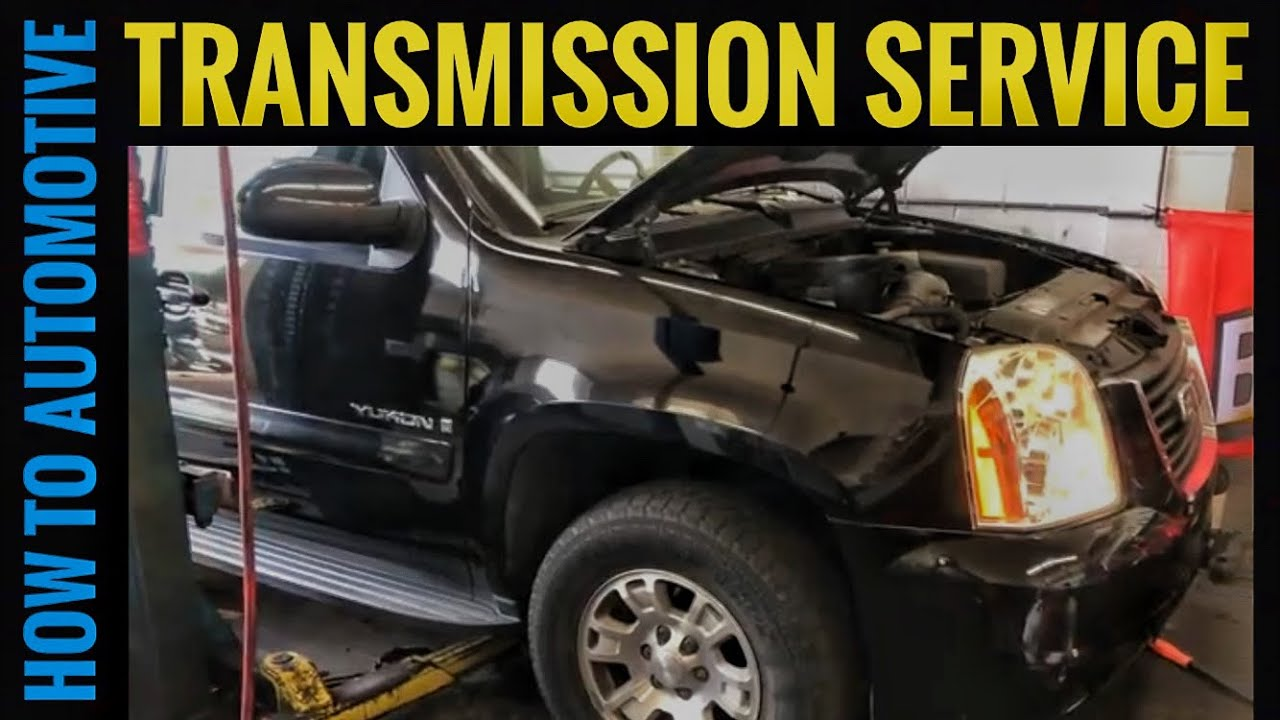 How to Change the Transmission Fluid and Filter on a 2007-2014 ...