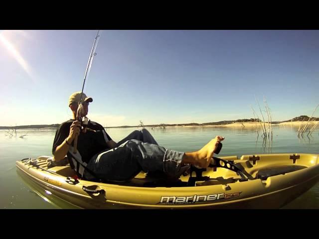 REVIEW- NATIVE MARINER 12.5 with propel drive,  KAYAK FISHING yak