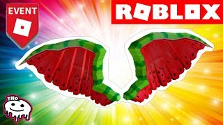 ASK: WHEN to GET MELON WINGS-Watermelon Wings-PIZZA PARTY EVENT | ROBLOX | tNo CZ/SK