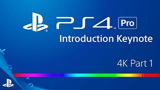 PlayStation 4 Pro Announcement - 4K Part 1 | PS4 Pro(https://www.playstation.com/en-us/explore/ps4-pro/ At the PlayStation Meeting in New York, Sony Interactive Entertainment unveiled the brand new PS4 Pro as ..., 2016-09-08T00:58:19.000Z)