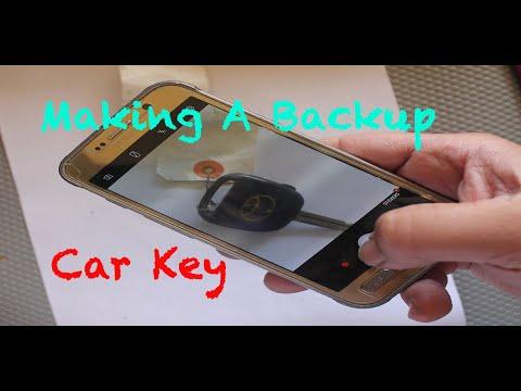 Backup Your Car Key - Plan B