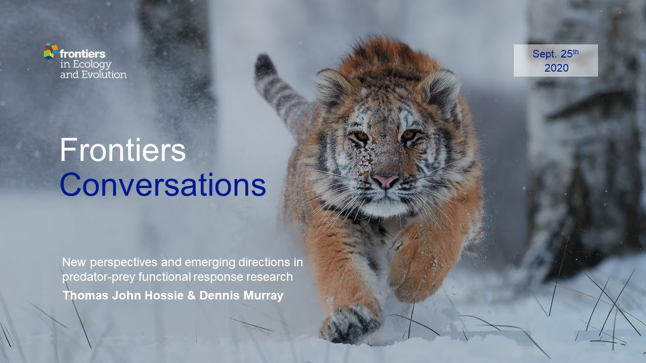 Frontiers Conversations - Frontiers in Ecology and Evolution Inaugural Webinar