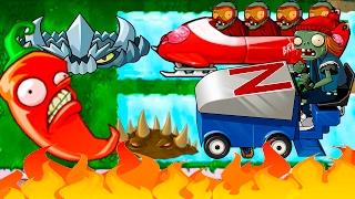 Игра - Растения Против Зомби - смотреть прохождение от Flavios #48