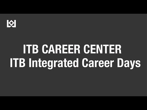 "ITB Career Center ""ITB Integrated Career Days"""
