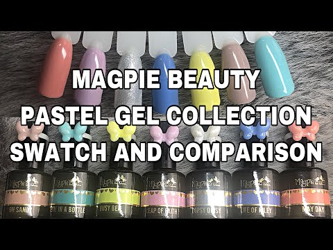 MAGPIE BEAUTY PASTEL GEL COLLECTION | ISABELMAYNAILS