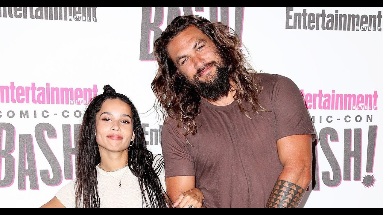 Jason Momoa Says He's 'So Freaking Stoked' That Stepdaughter Zo Kravitz Is Playing Catwoman